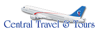 Central Travel & Tours Logo footer